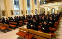 Gebet in der Klosterkirche